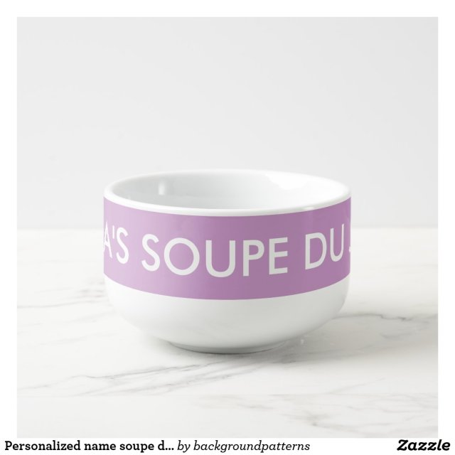 Personalised Soup Mug