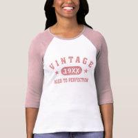 Personalize Vintage Shirt