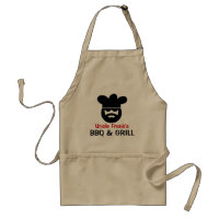 Personalized BBQ apron for men