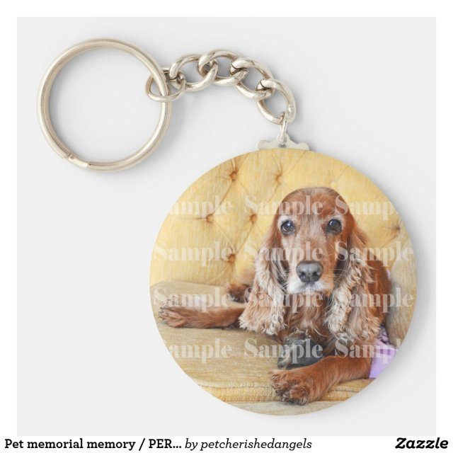 Pet memorial memory / PERSONALIZE photo