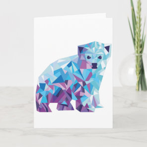 Polar Bear Holiday Card