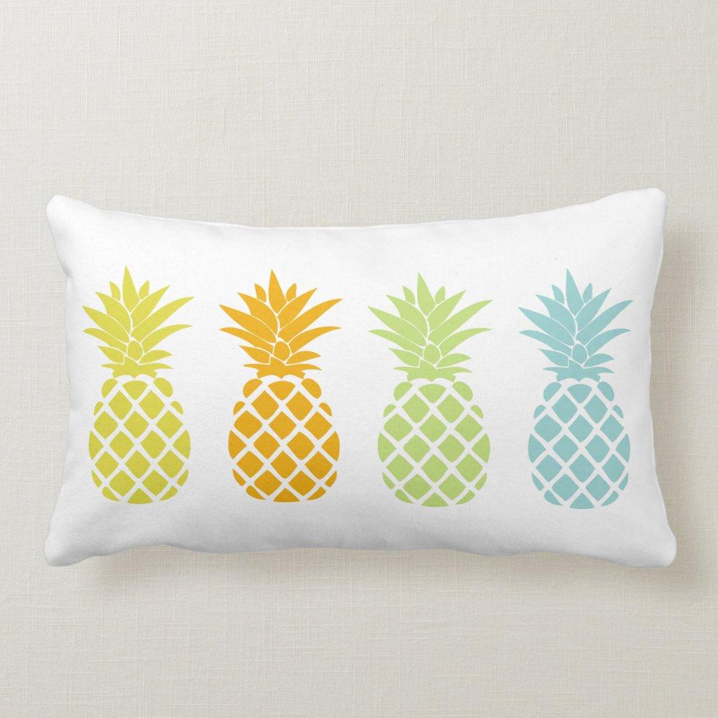 Rainbow Pineapples Cushion