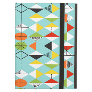 Retro Harlequin Pattern iPad Air Case