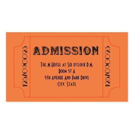 Prom Ticket Template Gala Invitations AnnouncementsDoc531299 – Prom Ticket Template