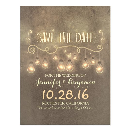 Save Date Announcement Cards