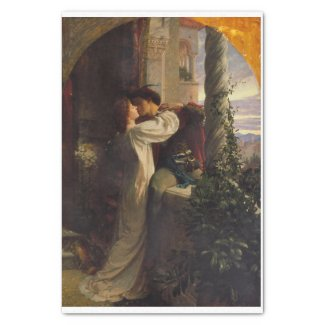 Romeo and Juliette decoupage Tissue Paper