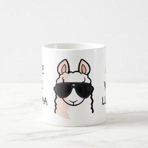 Save the Drama for Your Llama Coffee Mug