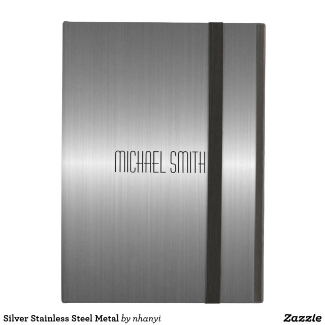 Silver Stainless Steel Metal