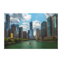 Skyline Chicago Canvas Print