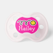Softball baby girl pacifier | Soother dummy binkie BooginHead Pacifier