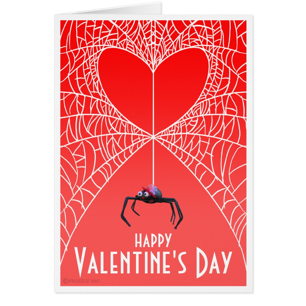 Spider Valentines Card