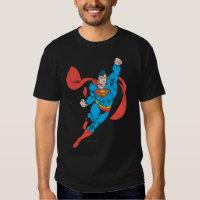 Superman Right Fist Raised Tshirt