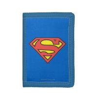 Superman S-Shield   Classic Logo Trifold Wallets