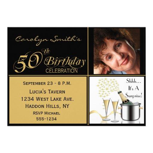 Pre Printed Birthday Invitations