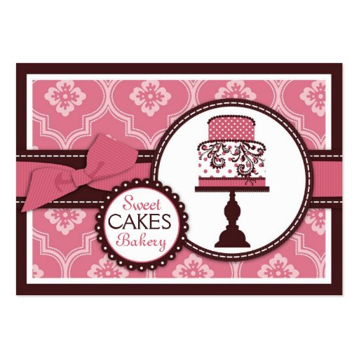 Cake business cards the best cake of 2018 cake business cards templates zazzle wajeb Choice Image