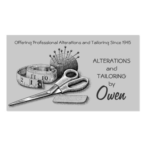 Sewing Alterations Business