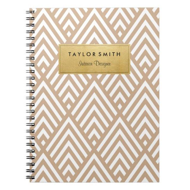 Chevron Pattern Notebook
