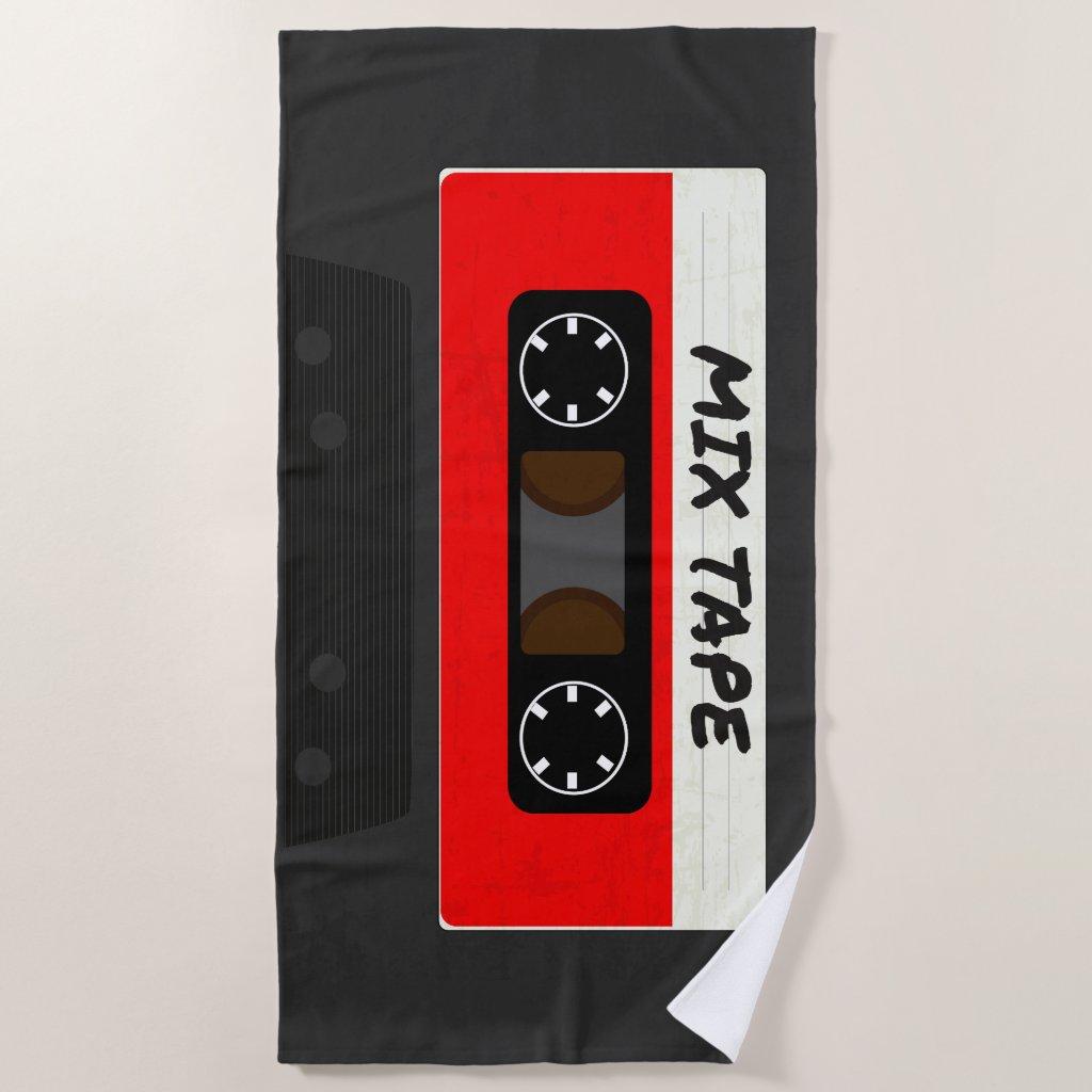 The Mix Tape Beach Towel
