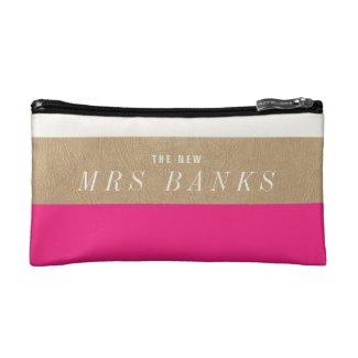 The New Mrs Makeup Bag