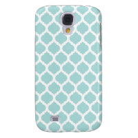 Tiffany Blu & White Moroccan Samsung Galaxy 4 Case Galaxy S4 Cases