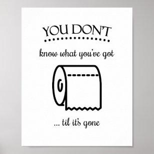 Plakater Til Badevaerelset Og Toilettet Sjove Plakater Til Dit Lokum