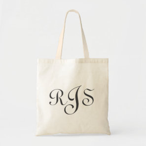 Tote Bag - Monogram