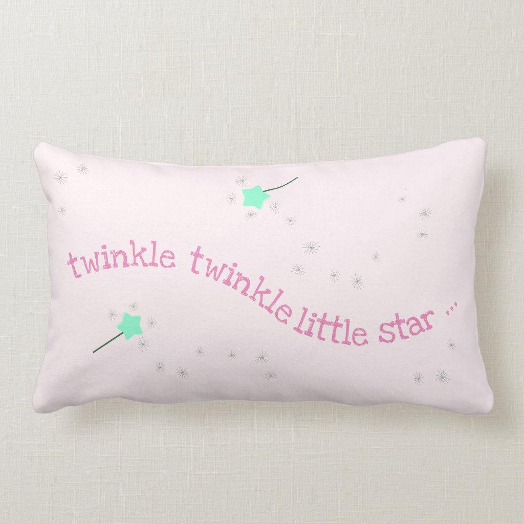 Twinkle twinkle little star - Magic Fairy Nursery Lumbar Cushion