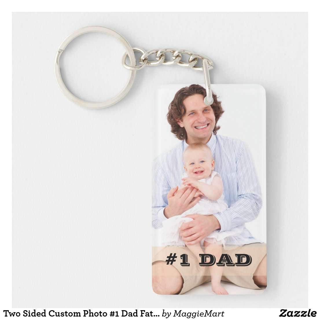 Photo #1 Dad Keyring