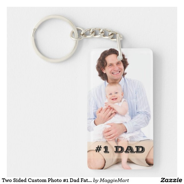 Photo #1 Dad Keyring