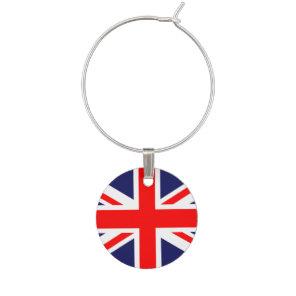 Union Jack - UK Flag Wine Charm