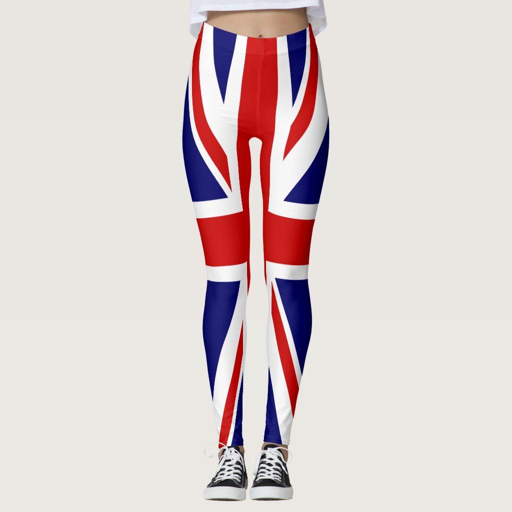 United Kingdom Flag / Union Jack Leggings