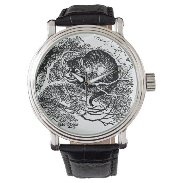 Vintage Alice in Wonderland, Cheshire Cat Watch
