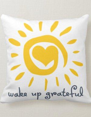 Gratitude cushion