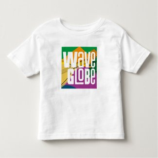 WaveGlobe Toddler T-Shirt