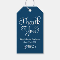 Wedding Favor Tags | Thank You Script Gift Tags