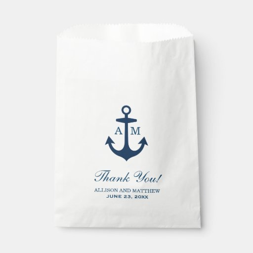 Nautical Favour Bags