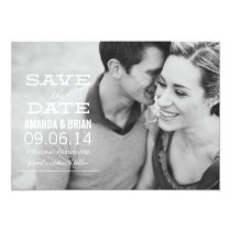 Photo Save the Date Announcement