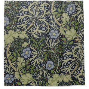 William Morris Seaweed Pattern Shower Curtain. Shower Curtain