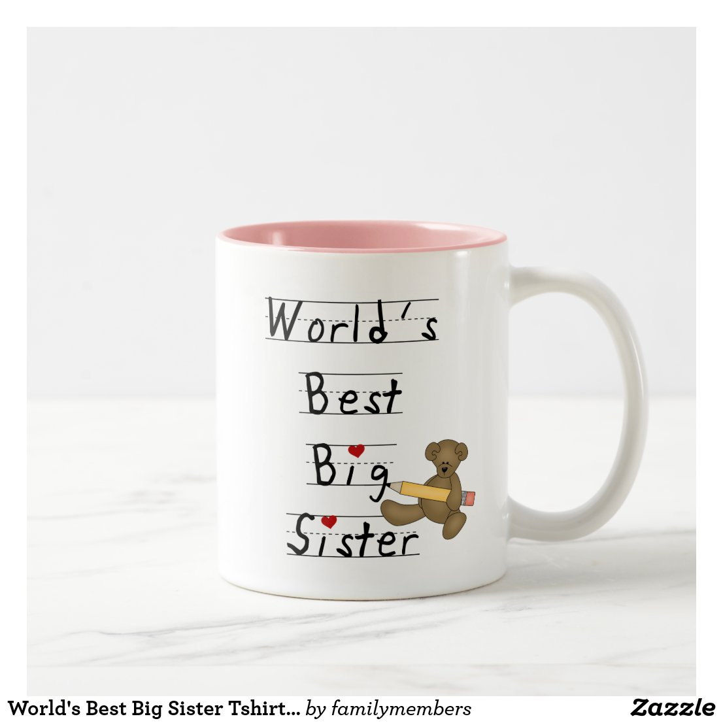 World's Best Big Sister Mug