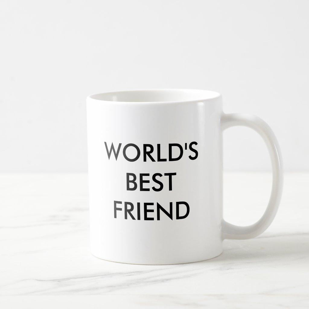 WORLD'S BEST FRIEND MUG