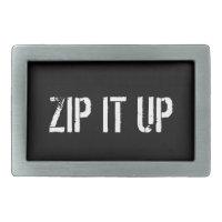 Zip It Up Men's Belt Buckle