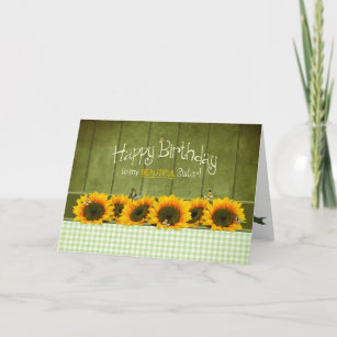 Sunshine Sunflower Cards Zazzle Au