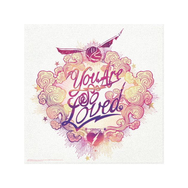 Download Harry Potter   You Are So Loved Canvas Print   Zazzle.com.au