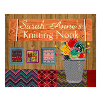 Knitting Posters Amp Photo Prints Zazzle AU