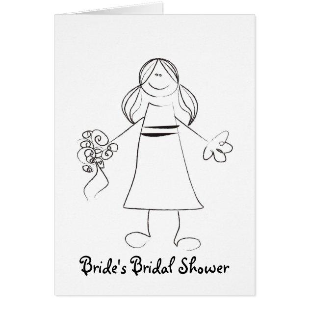 pre printed bridal shower invitations