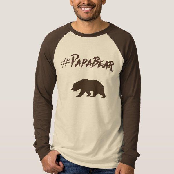 Papa Bear hashtag tshirt