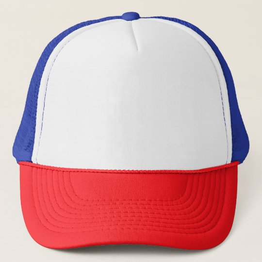 Top Hat White Red Blue And