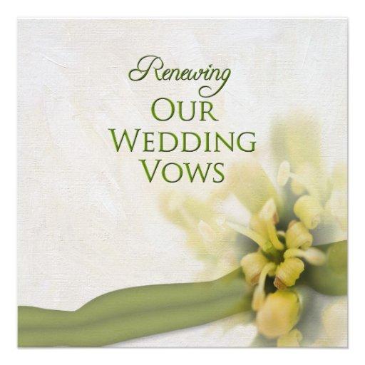 Vow Renewal Invitation Wording Samples