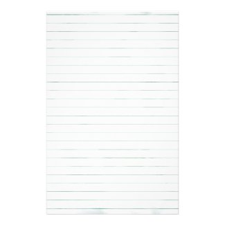 White lined Paper Stationery