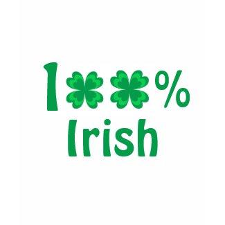 100% Irish - T-shirt shirt